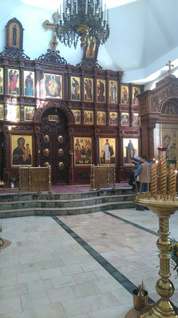 Храм мужского монастыря г. Алатырь