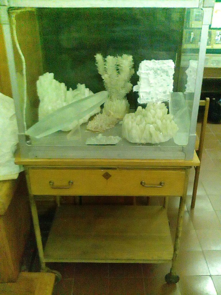 Макет с кораллами музей физики МГУ