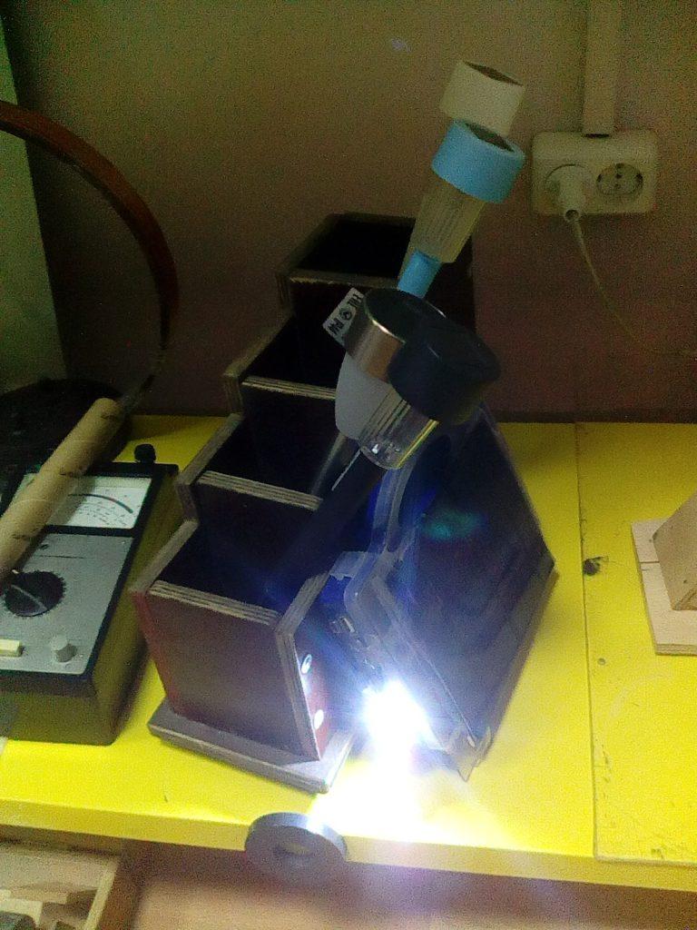 Солнечная панель фонарик