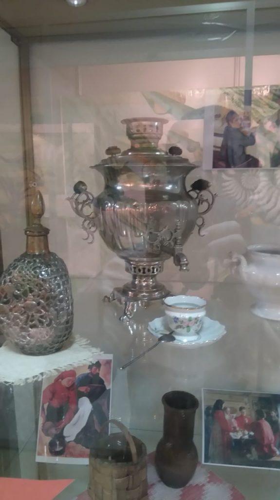 Экспонаты краеведческого музея